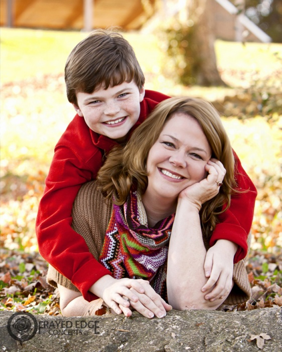 Mother And Son Session High Point Portrait Photographer Fall